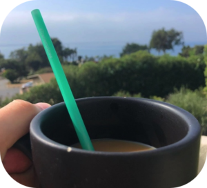 hempstraw in cup